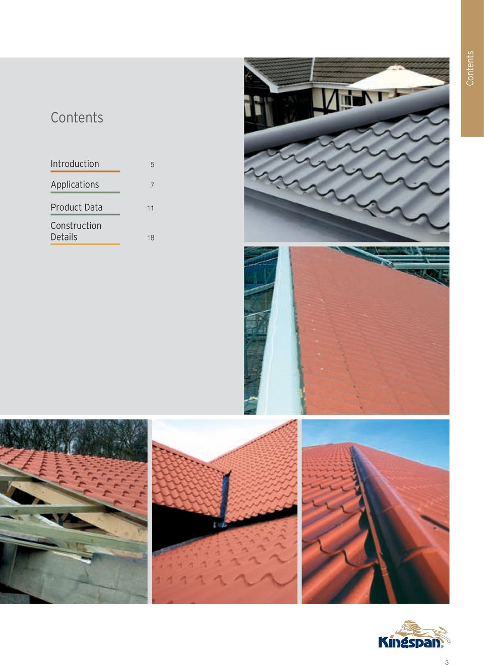 Kingspan Roof Tile  Insulated Panels  Insulated Tile Effect