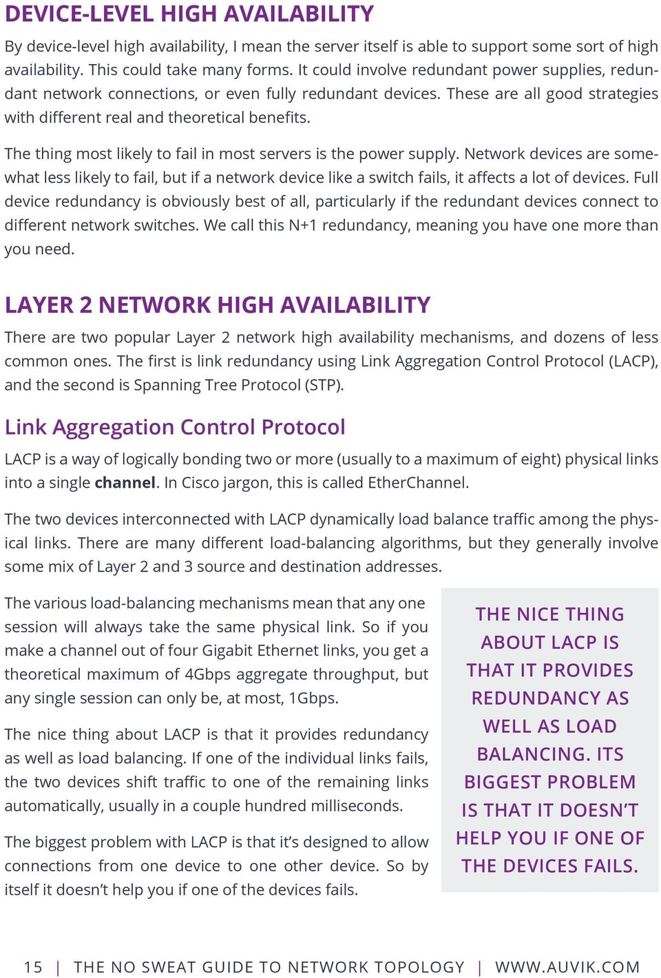 The No Sweat Guide To Network Topology Kevin Dooley Pdf 2 Way Switch Meaning Thing Most Likely Fail In Servers Is Power Supply Devices