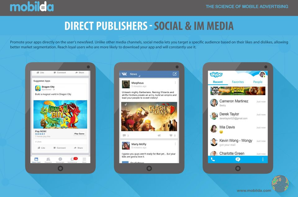 Unlike other media channels, social media lets you target a specific audience based on