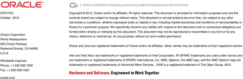 October Oracle User Productivity Kit 11 1 Frequently Asked