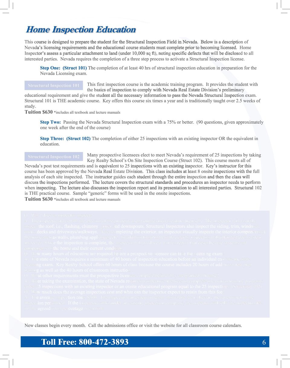About Key Realty School Able Of Content 1 Pdf