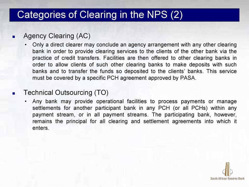 Access to the National Payment System (NPS) - PDF