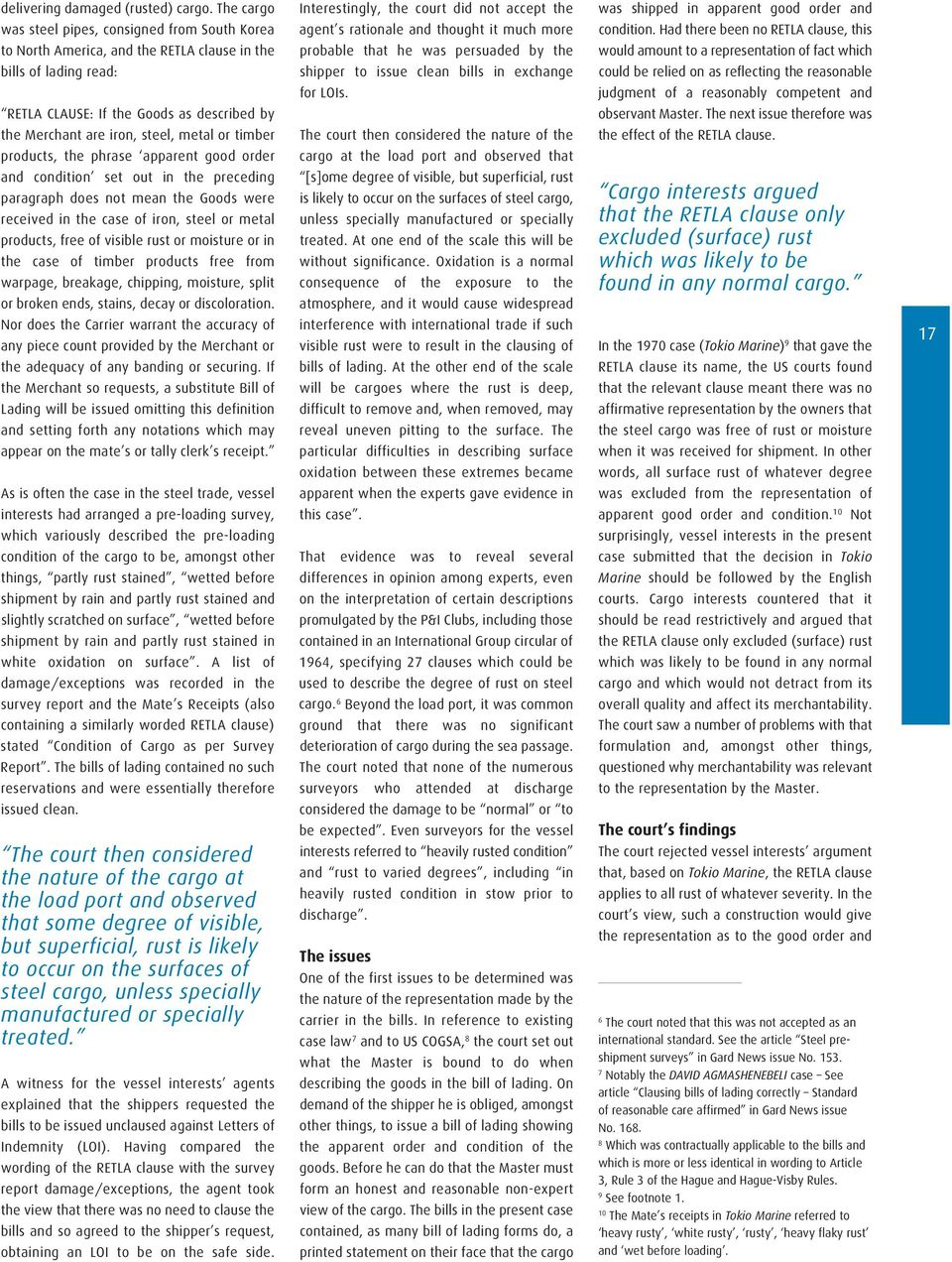 GARDNEWS  Low-sulphur fuels explained PAGE 4  English law
