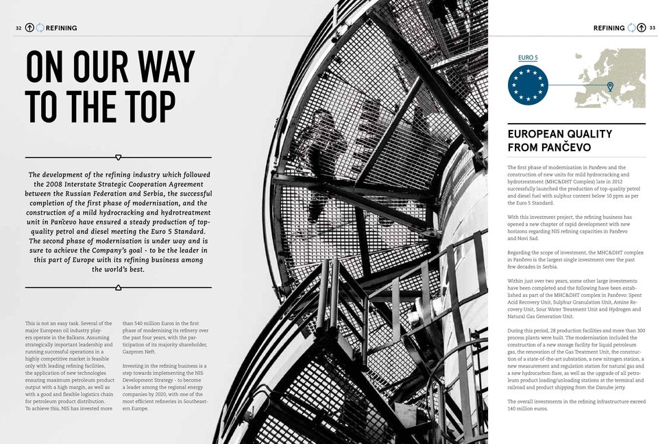 REFINING ON OUR WAY TO THE TOP - PDF
