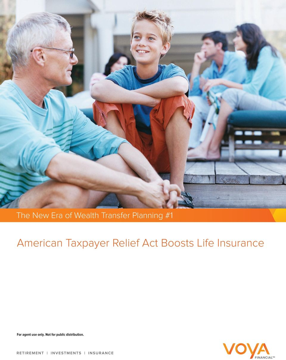 Relief Act Boosts Life Insurance