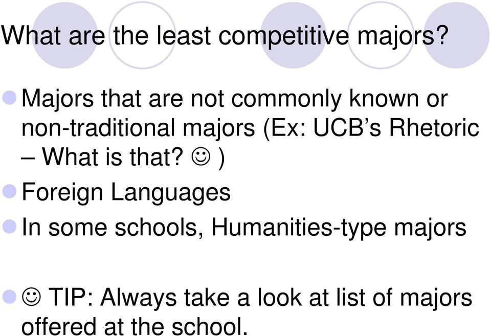 (Ex: UCB s Rhetoric What is that?