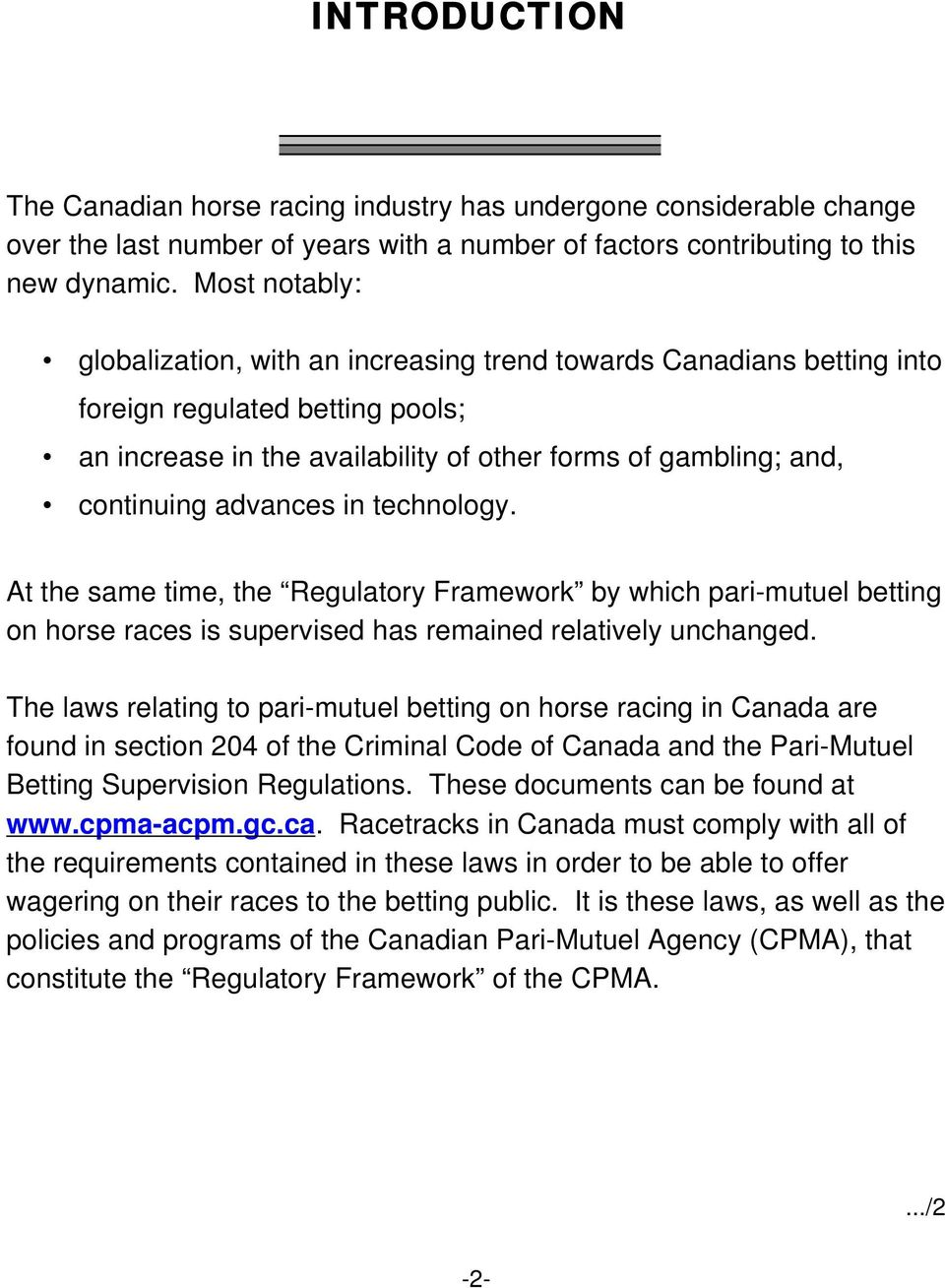 Pari-mutuel betting supervision regulations meaning betting both teams to score stats