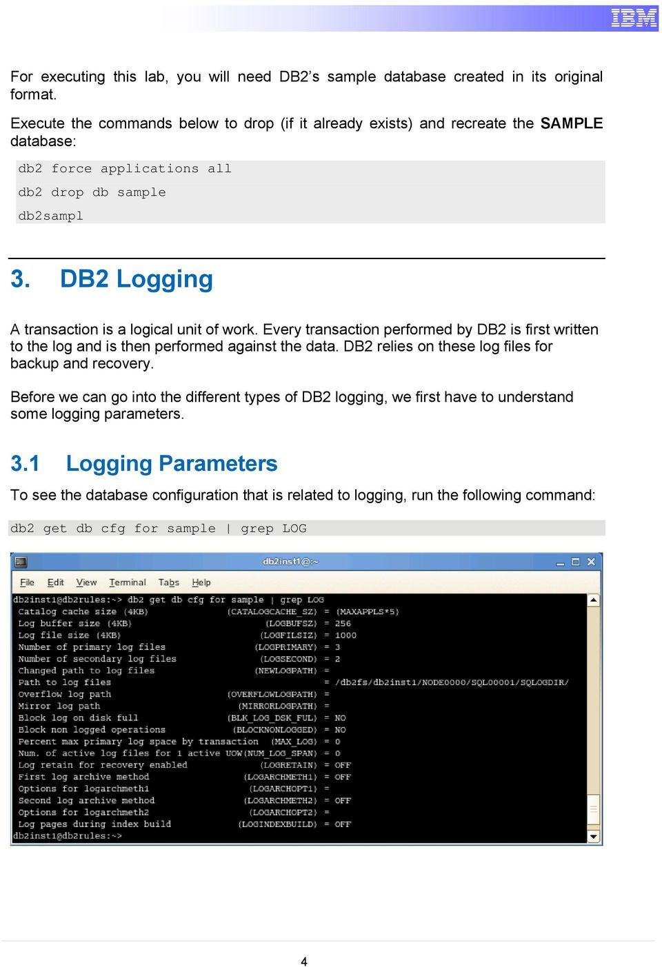 IBM DB Backup and Recovery Hands-On Lab  Information Management