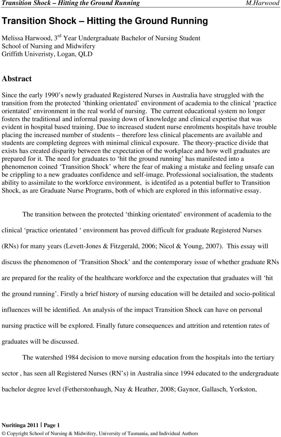 Obesity Essay Thesis Environment In The Real World Of Nursing Essay On Health Care also Psychology As A Science Essay Nuritinga Electronic Journal Of Nursing  Pdf English Example Essay
