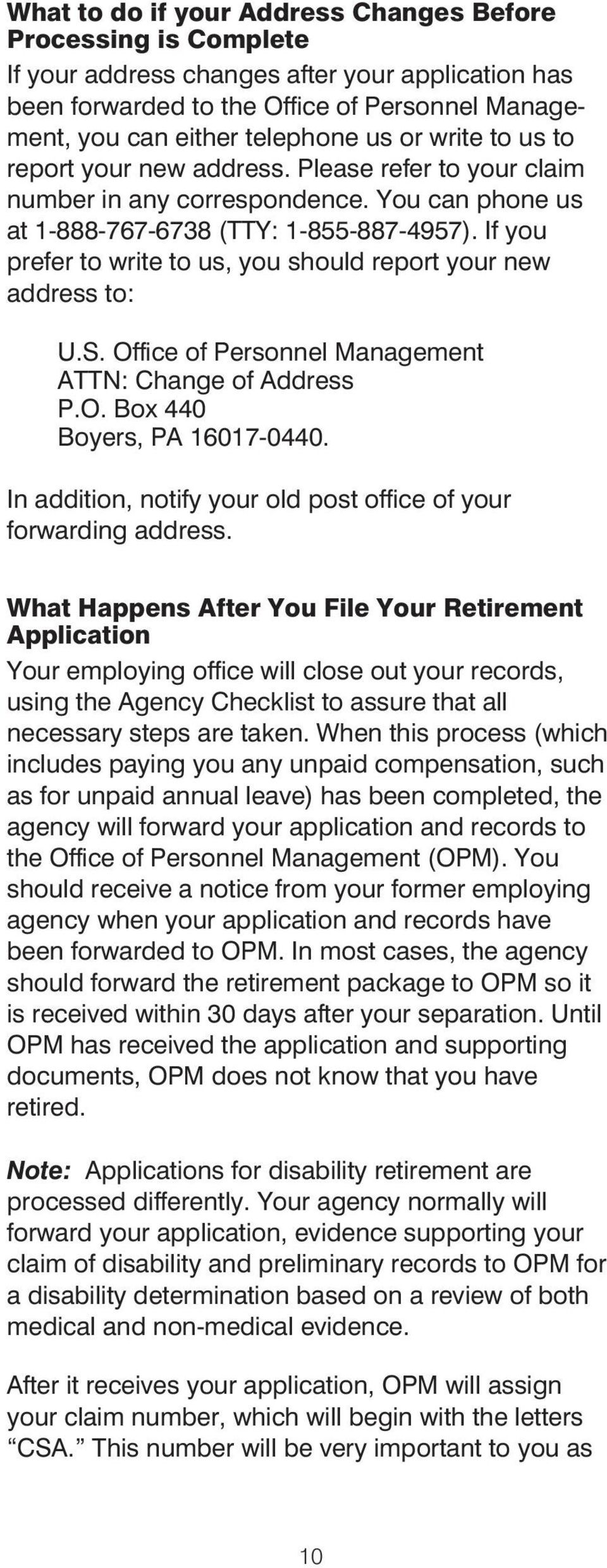 Applying for Immediate Retirement Under the Federal