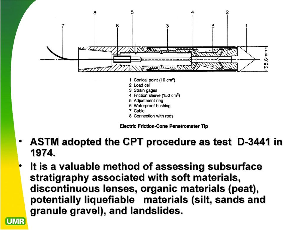 Fundamentals Of Cone Penetrometer Test Cpt Soundings J David Rogers Ph D P E R G Pdf Free Download