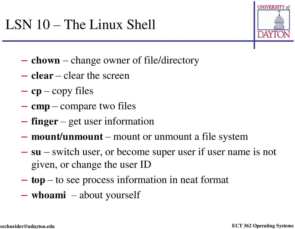 LSN 10 Linux Overview - PDF
