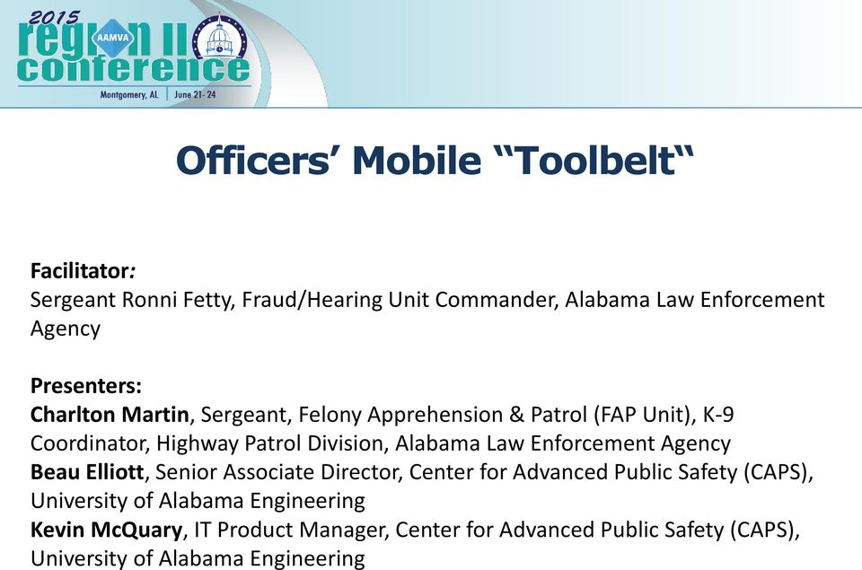 Officers Mobile Toolbelt - PDF