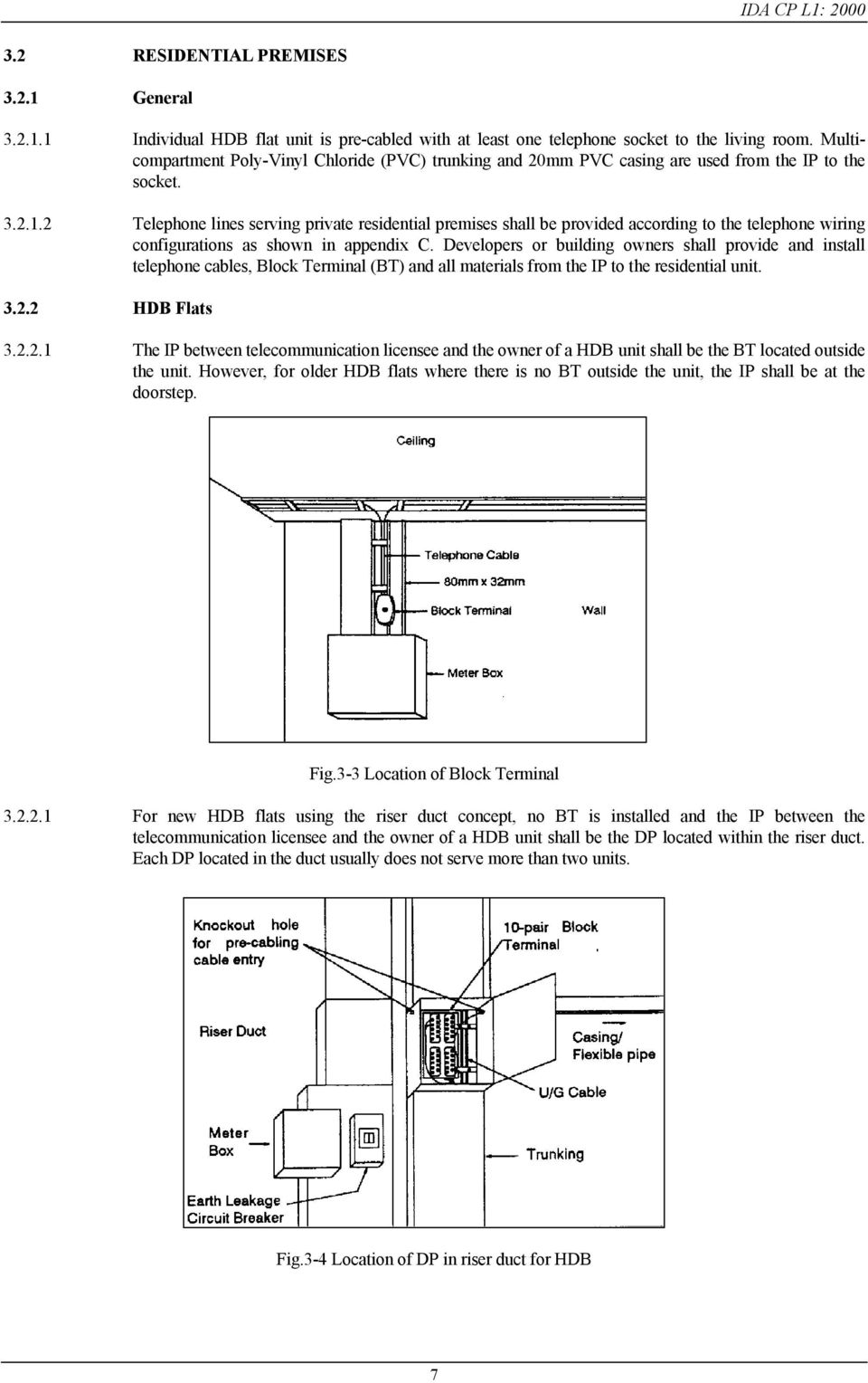 Code Of Practice For Internal Telecommunication Wiring Pdf Diagram Bt Vision 2 Telephone Lines Serving Private Residential Premises Shall Be Provided According To The Configurations