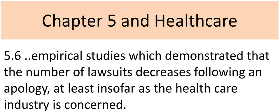 number of lawsuits decreases following an