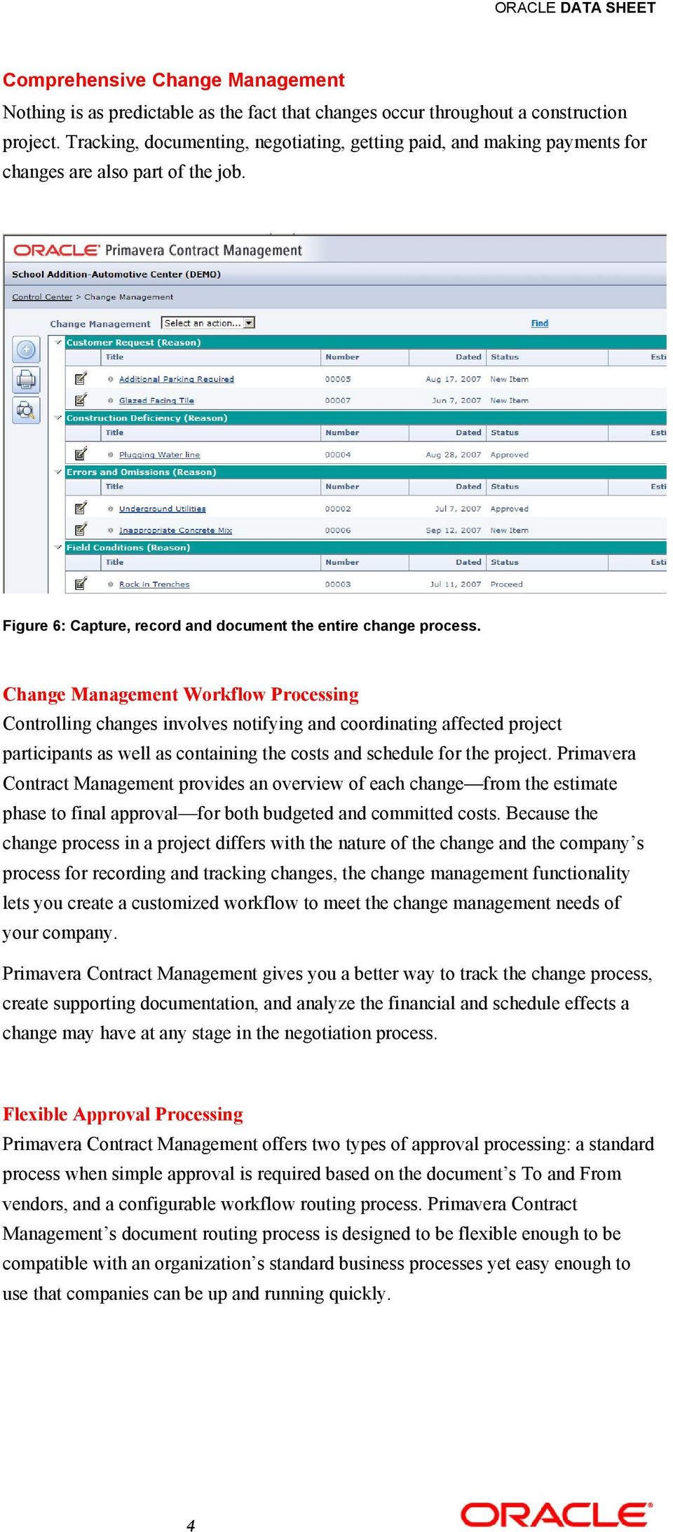 Change Management Workflow Processing Controlling changes involves notifying and coordinating affected project participants as well as containing the costs and schedule for the project.
