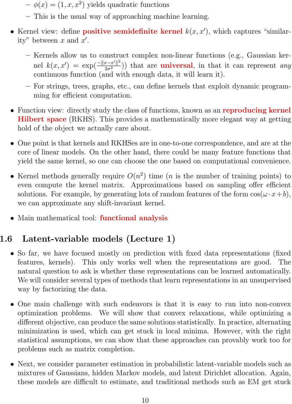 CS229T/STAT231: Statistical Learning Theory (Winter 2015) - PDF
