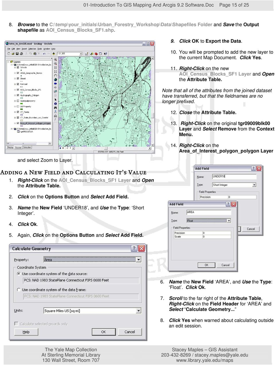 Introduction to GIS Mapping and ESRI s ArcGIS Software - PDF