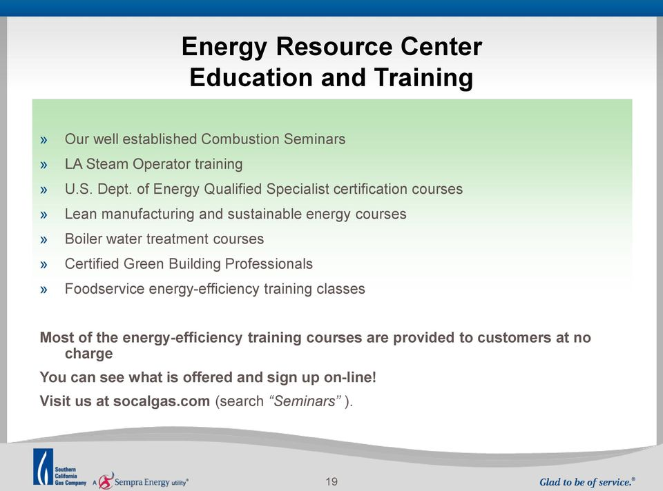 courses» Certified Green Building Professionals» Foodservice energy-efficiency training classes Most of the energy-efficiency