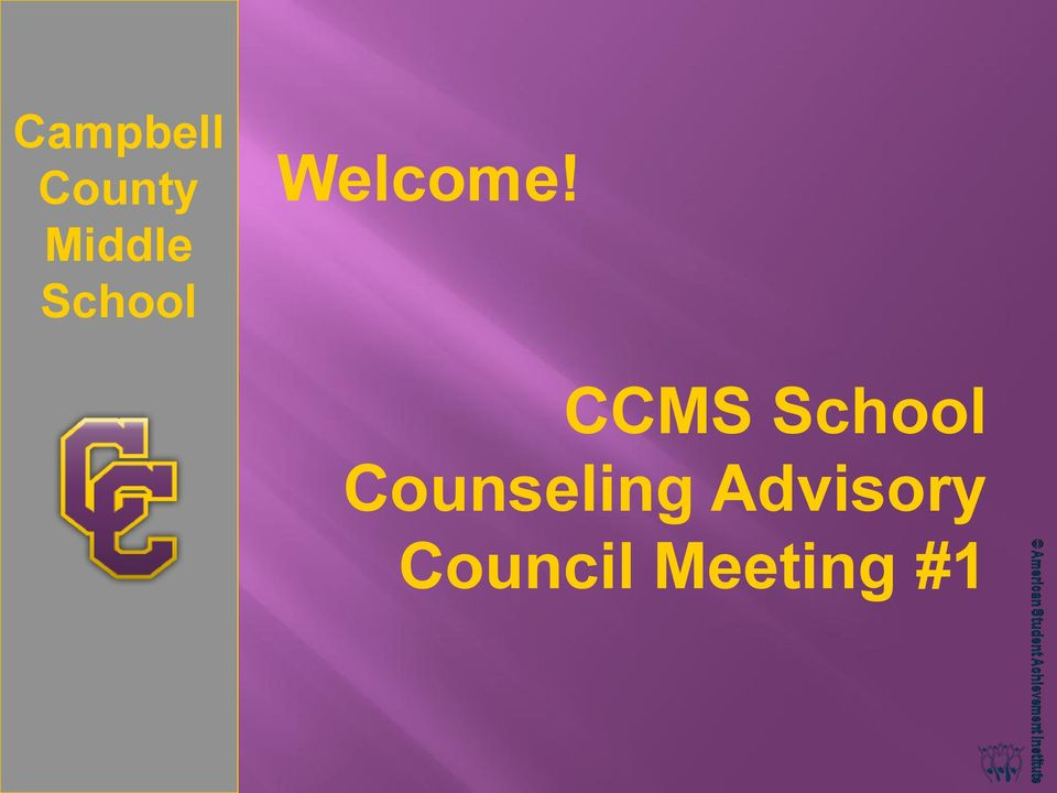CCMS School Counseling