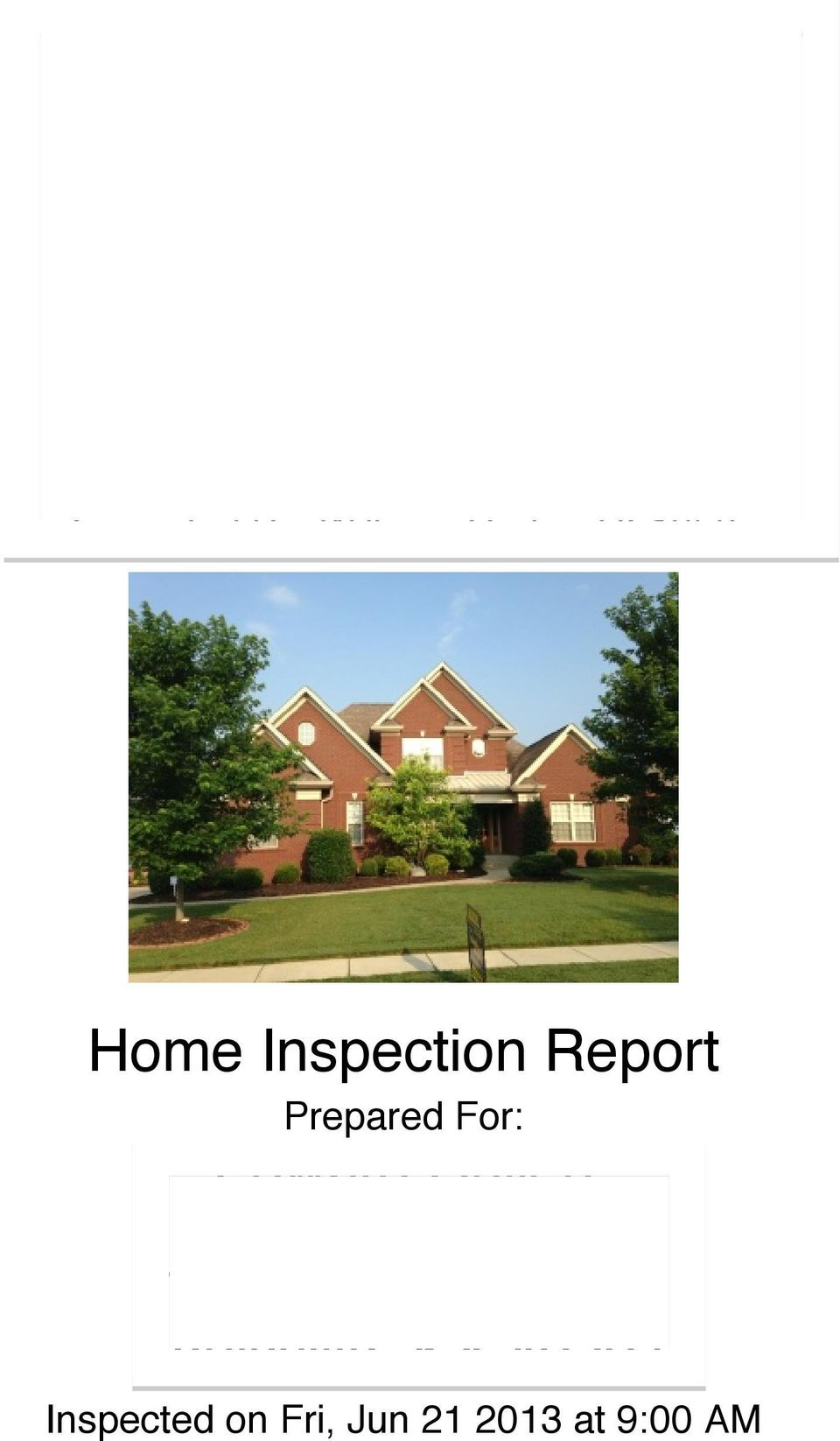 com Inspected By: William Carter, HI-1956 Home Inspection Report