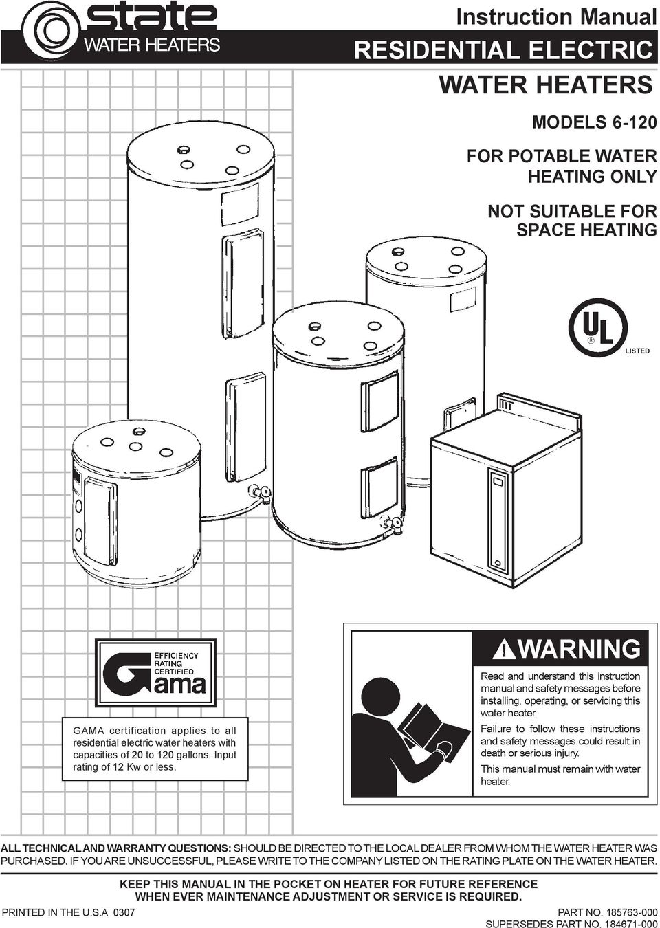 Electric Hot Water Heater Water Heater Wiring Diagram