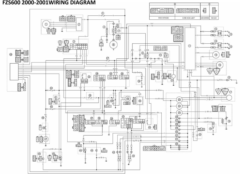 e bike controller wiring diagram japan wiring diagram fz wiring diagram (japanese market fazer 400) 5 - pdf #15