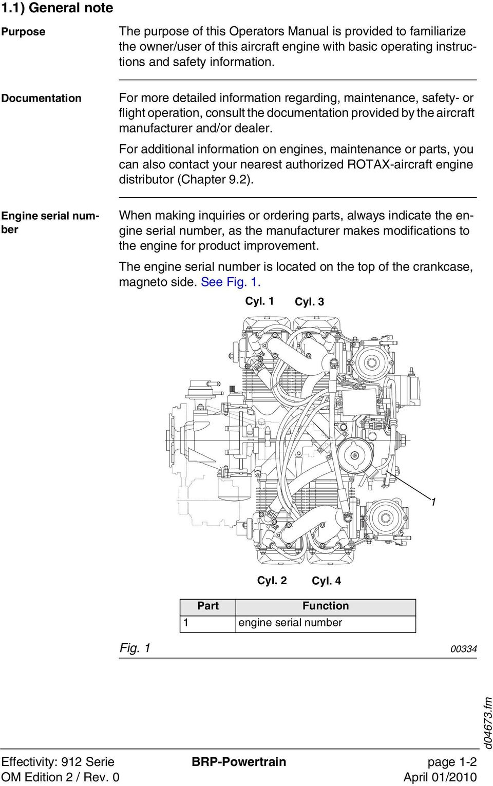 Operators Manual For Rotax Engine Type 912 Series Pdf Motorcycle Diagram Clutch Additional Information On Engines Maintenance Or Parts You Can Also Contact Your Nearest