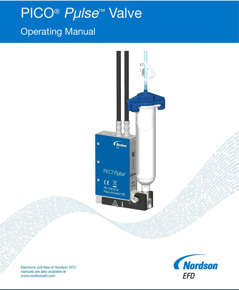 PICO Pµlse Valve  Operating Manual  Electronic pdf files of