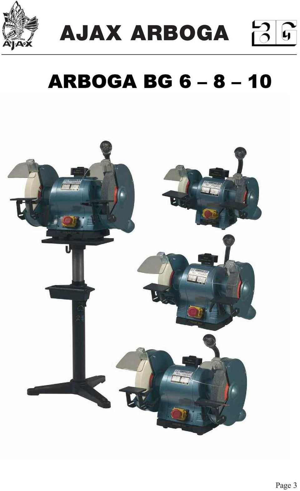Ajax Arboga Pdf. 4 The Arboga Bg Double Ended Grinders And Polishers Are High Quality Machines Ideal For Workshop They Available As Bench Height Adjustable. Wiring. Br Tool Bench Grinder Wiring Diagram At Scoala.co