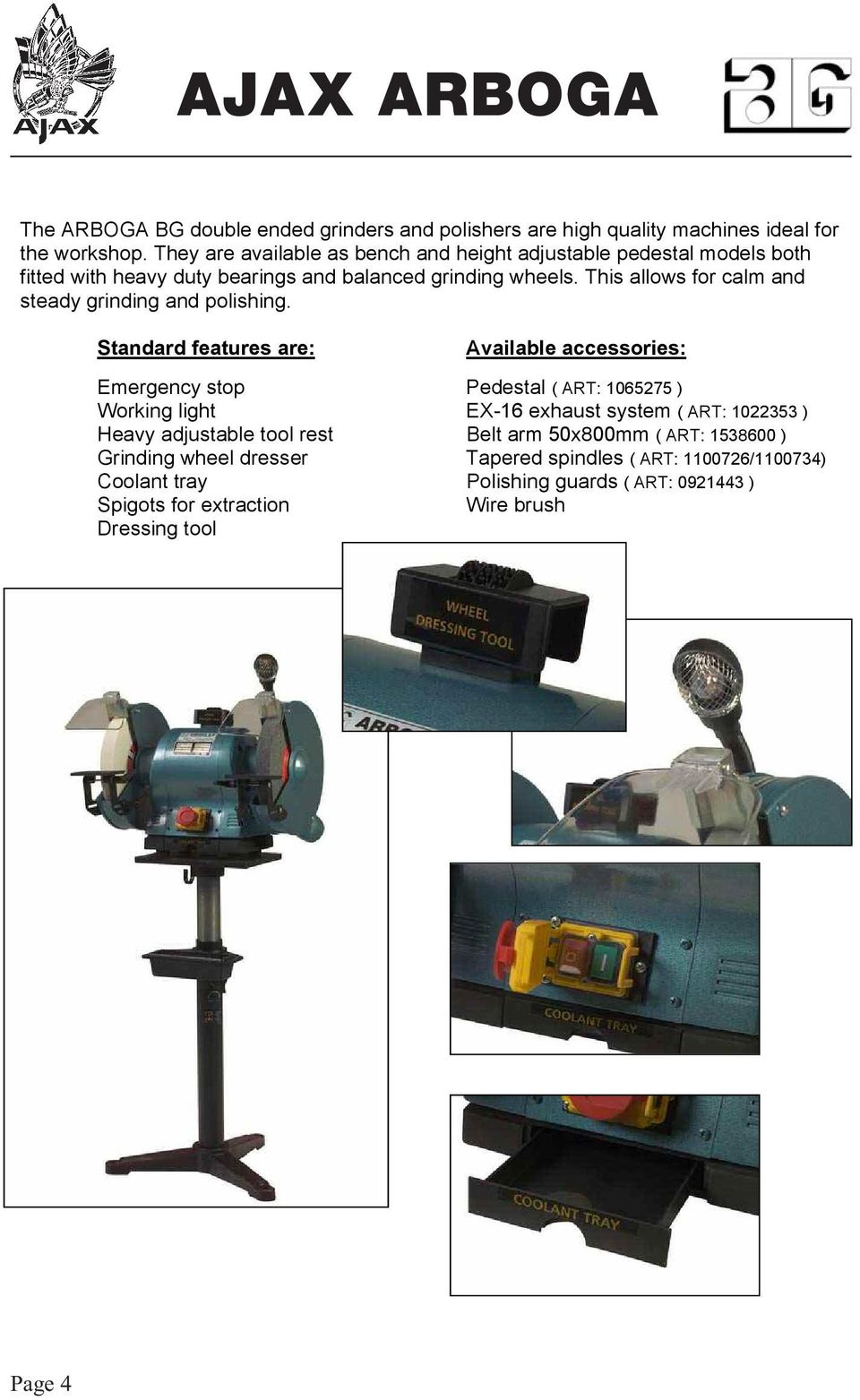 Ajax Arboga Pdf. This Allows For Calm And Steady Grinding Polishing. Wiring. Br Tool Bench Grinder Wiring Diagram At Scoala.co