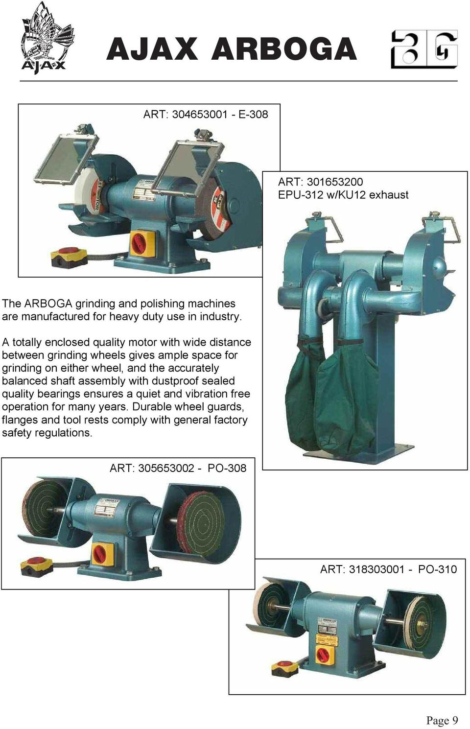 Ajax Arboga Pdf. A Totally Enclosed Quality Motor With Wide Distance Between Grinding Wheels Gives Le Space For. Wiring. Br Tool Bench Grinder Wiring Diagram At Scoala.co
