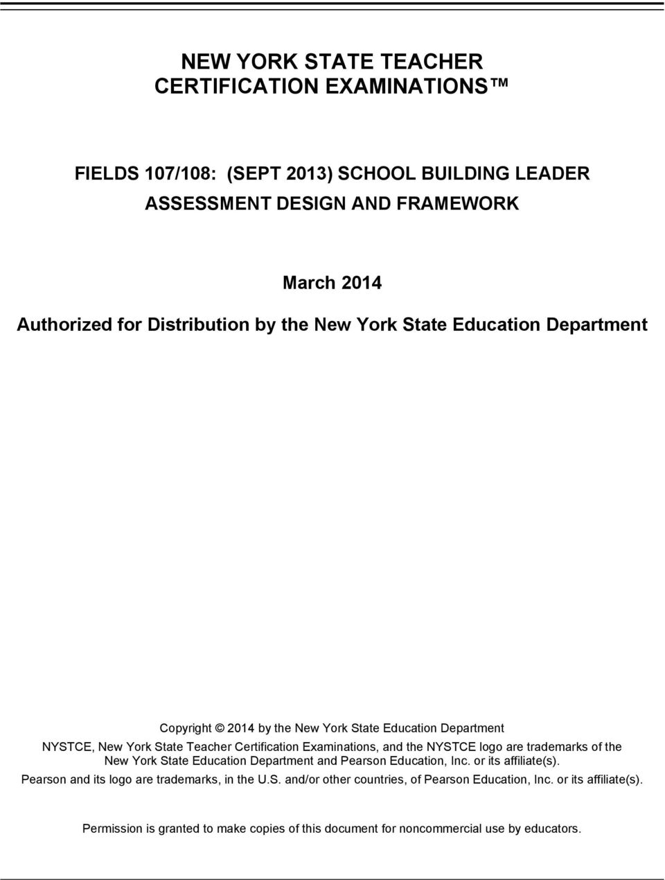 New York State Teacher Certification Examinations Pdf