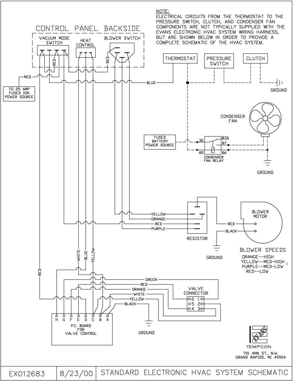 Evans Tempcon Rv Wiring Diagrams Detailed Schematics Diagram 12v Fuse Panel Electronic Temperature Control Troubleshooting Guide For