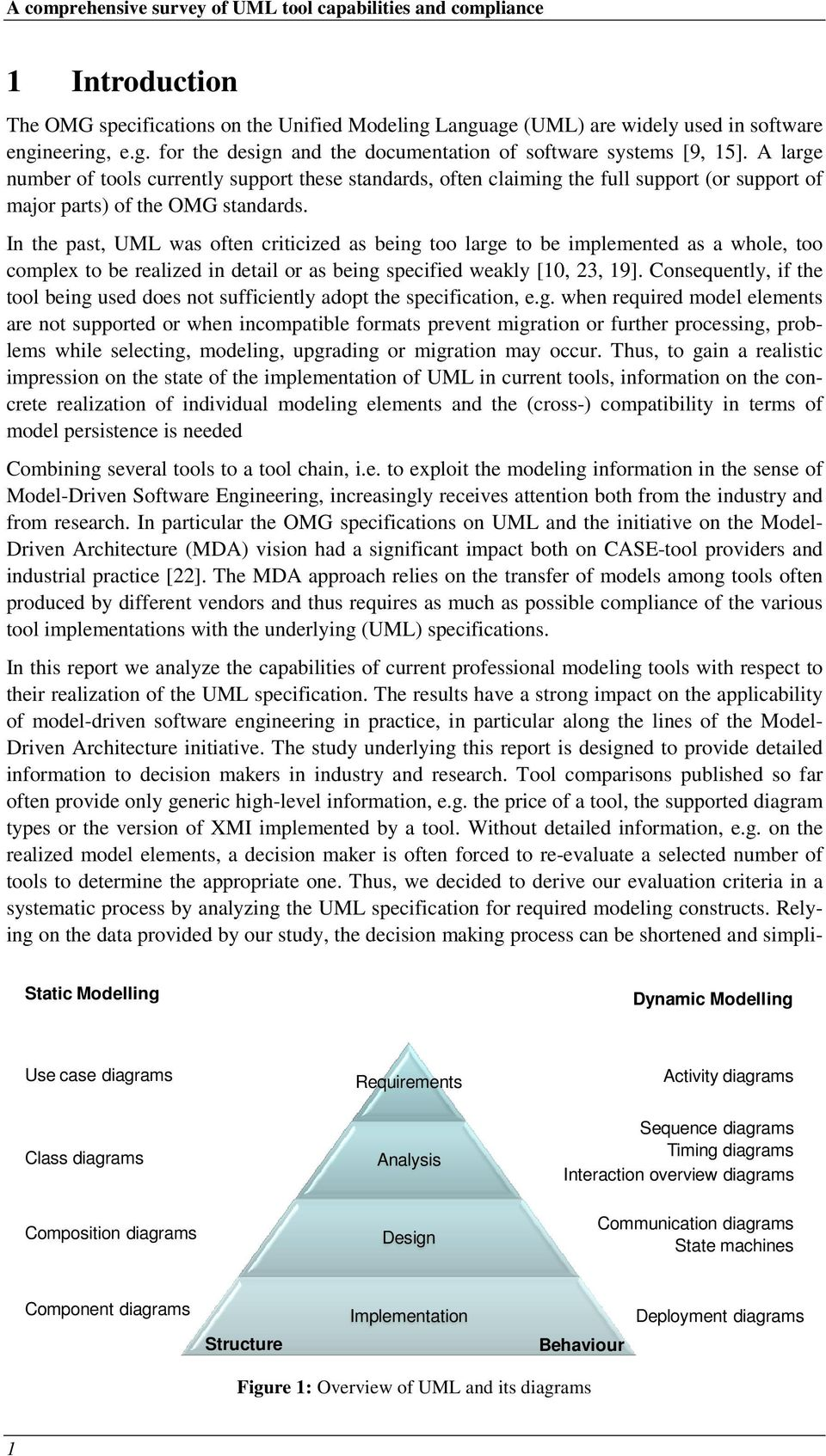 Analysis Of Uml Tools Their Capabilities And Compliance Pdf Additionally State Machine Diagram On Tool Diagrams In The Past Was Often Criticized As Being Too Large To Be Implemented