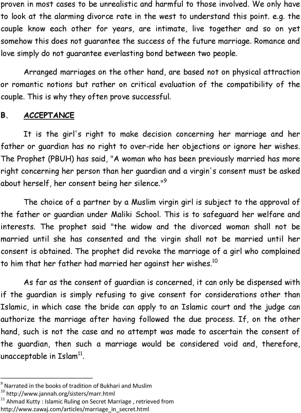REQUIREMENTS OF A VALID ISLAMIC MARRIAGE VIS-À-VIS REQUIREMENTS OF A