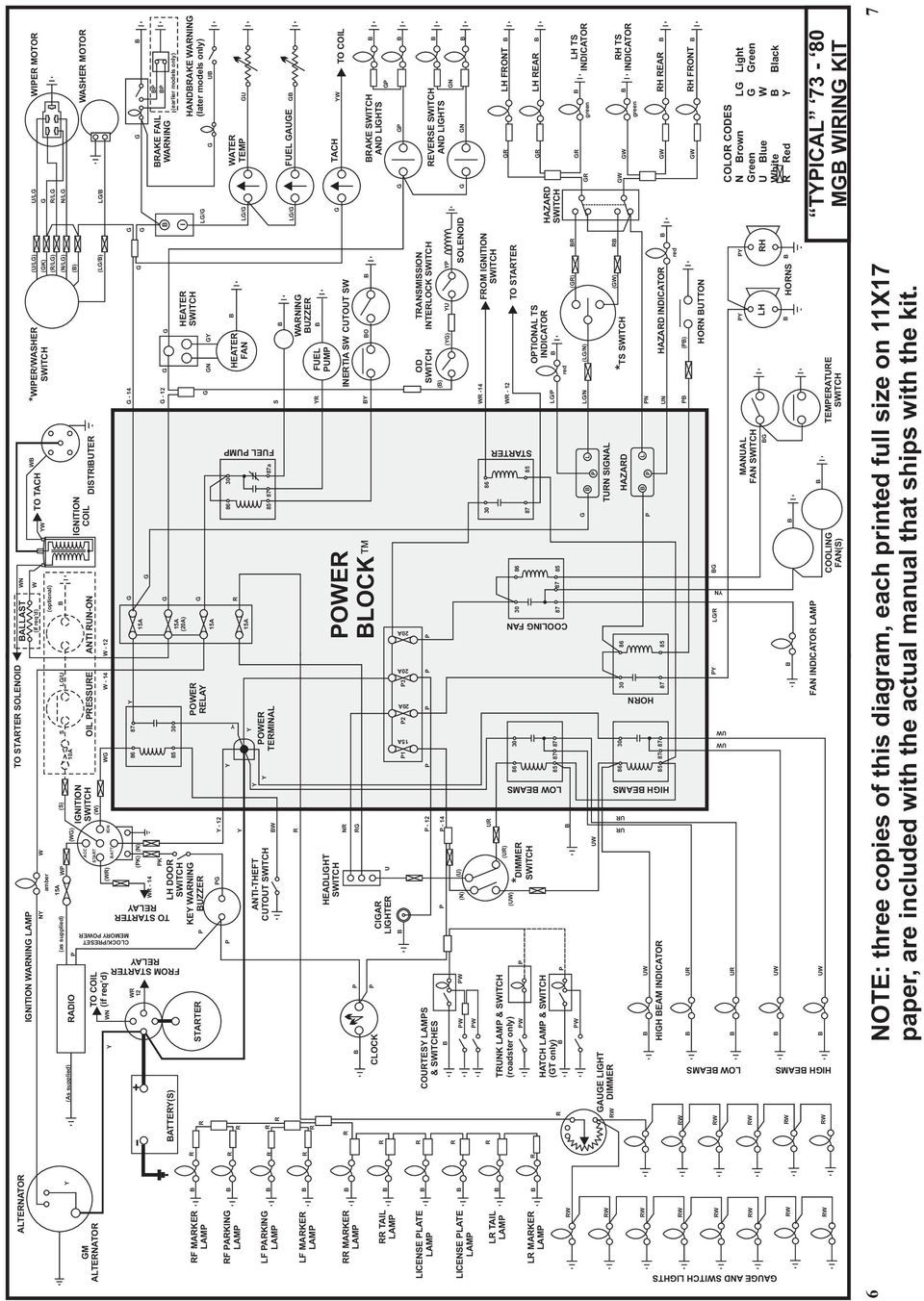 Auto Wire Installation Instructions For Custom Wiring Panel Mgb Diagram Light Hatch Lam T Only Aue Liht W Dimme N