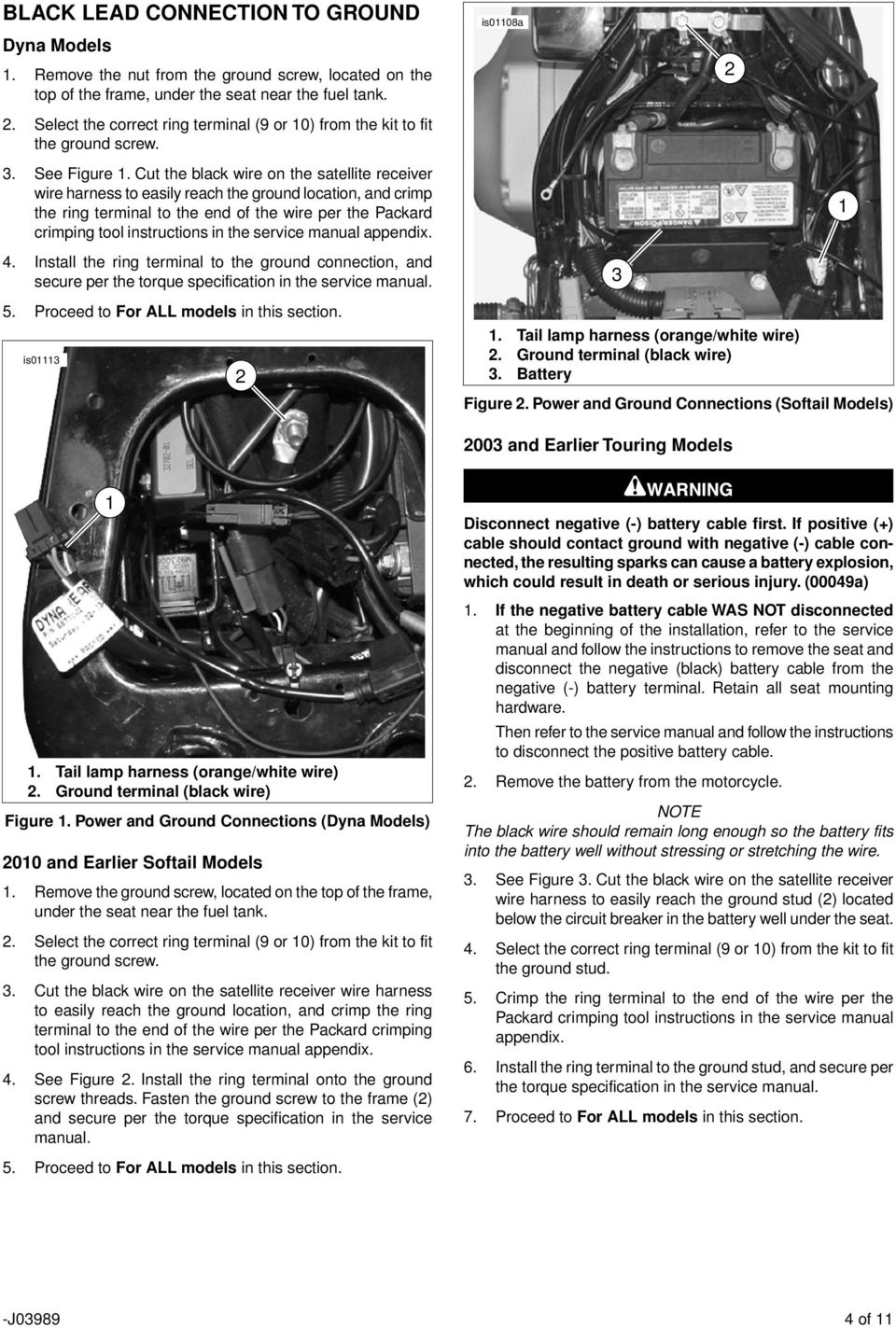 Road Tech Xm Satellite Radio Receiver Kit Pdf Fxd Wiring Harness Cut The Black Wire On To Easily Reach Ground Location