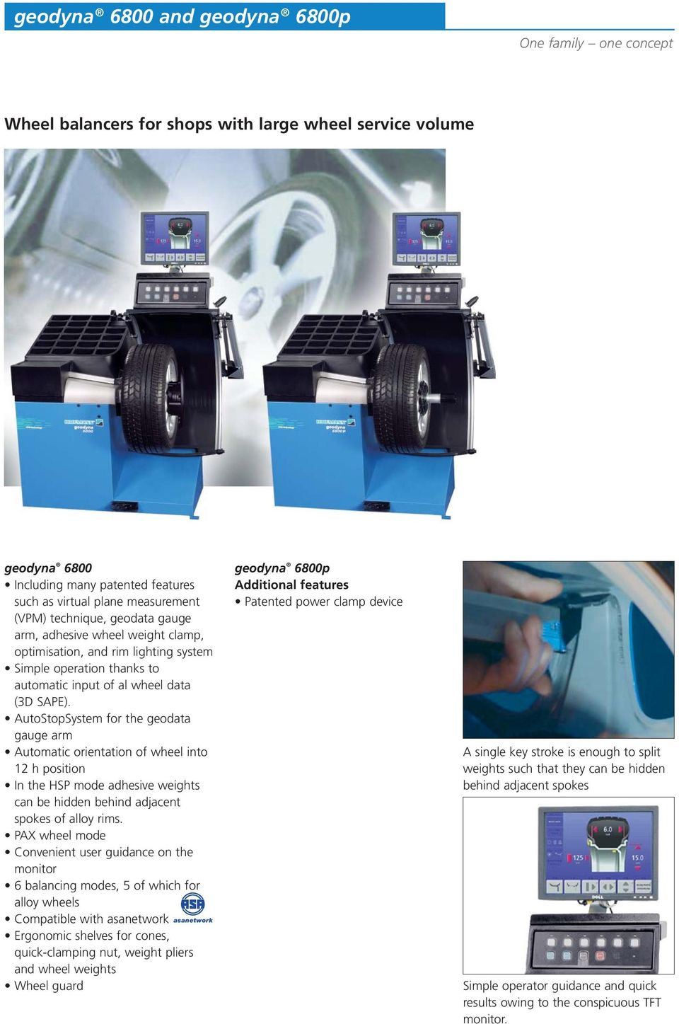 AutoStopSystem for the geodata gauge arm Automatic orientation of wheel  into 12 h position In the