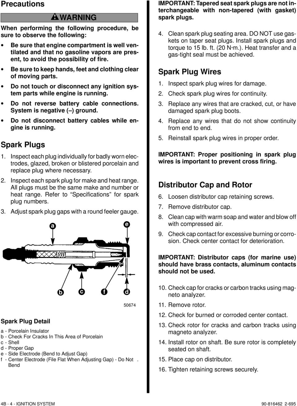 ELECTRICAL SYSTEMS IGNITION SYSTEM - PDF