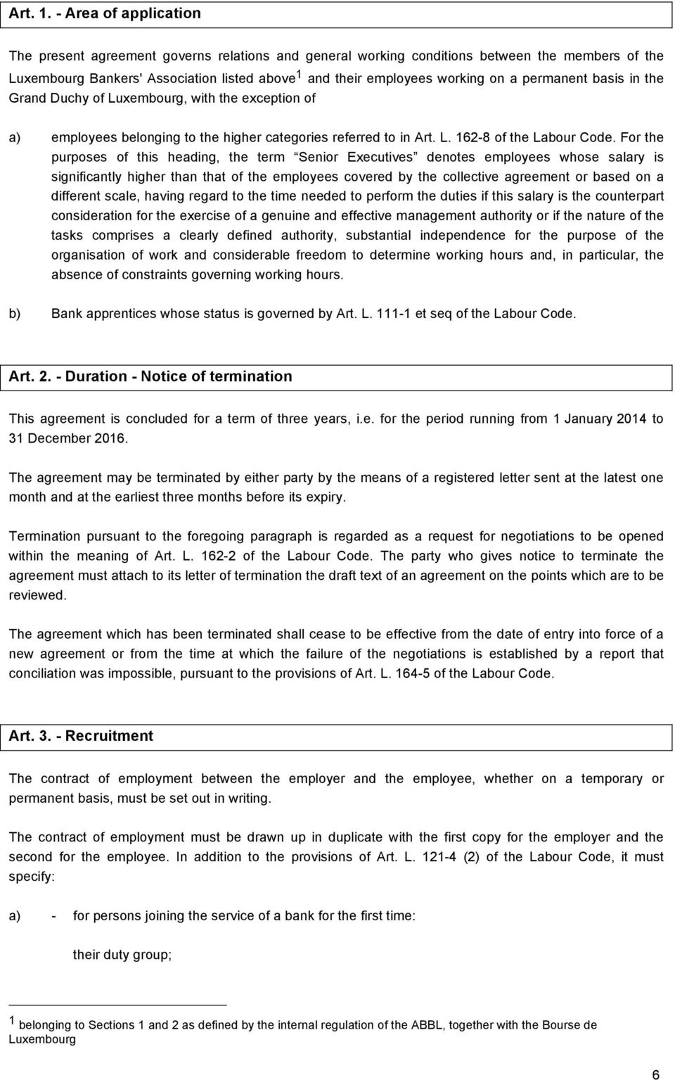 Collective Employment Agreement For Bank Employees Pdf