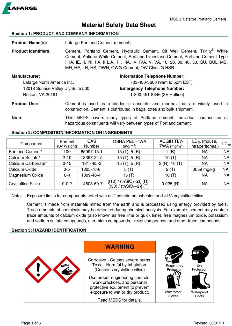 Material Safety Data Sheet - PDF