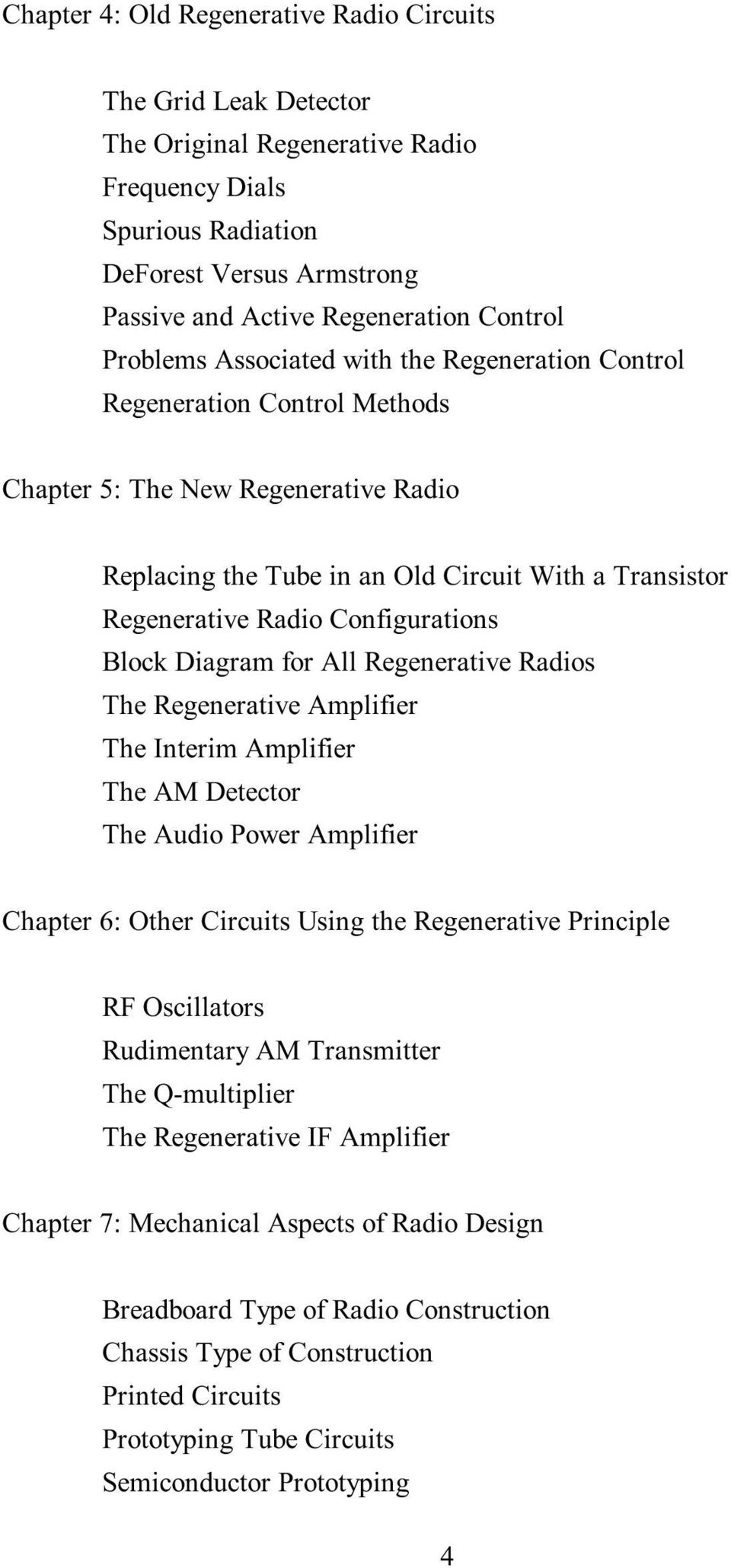 The New Radio Receiver Building Handbook Pdf Fm Transmitter Circuit Stripboard Layout 2 Configurations Block Diagram For All Regenerative Radios Amplifier Interim Am Detector