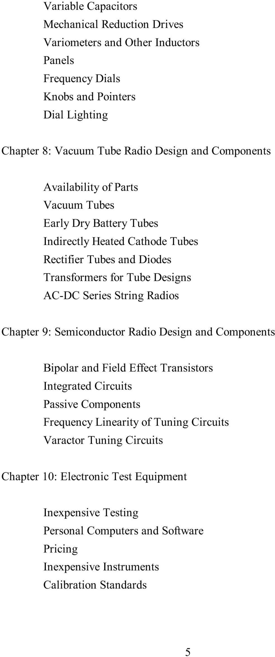 The New Radio Receiver Building Handbook Pdf Tuned Frequency Trf Circuit Diagram Series String Radios Chapter 9 Semiconductor Design And Components Bipolar Field Effect Transistors