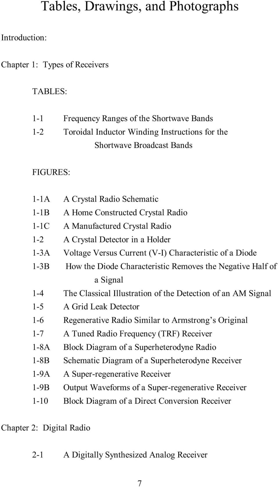 The New Radio Receiver Building Handbook Pdf Circuit Diagram Characteristic Of A Diode 1 3b How Removes Negative Half