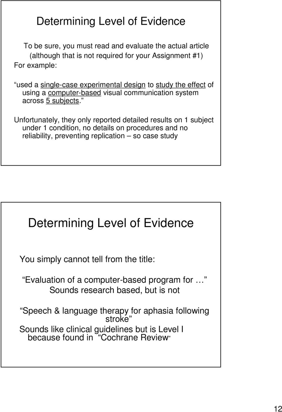 Evidence-Based Practice and This Course - PDF