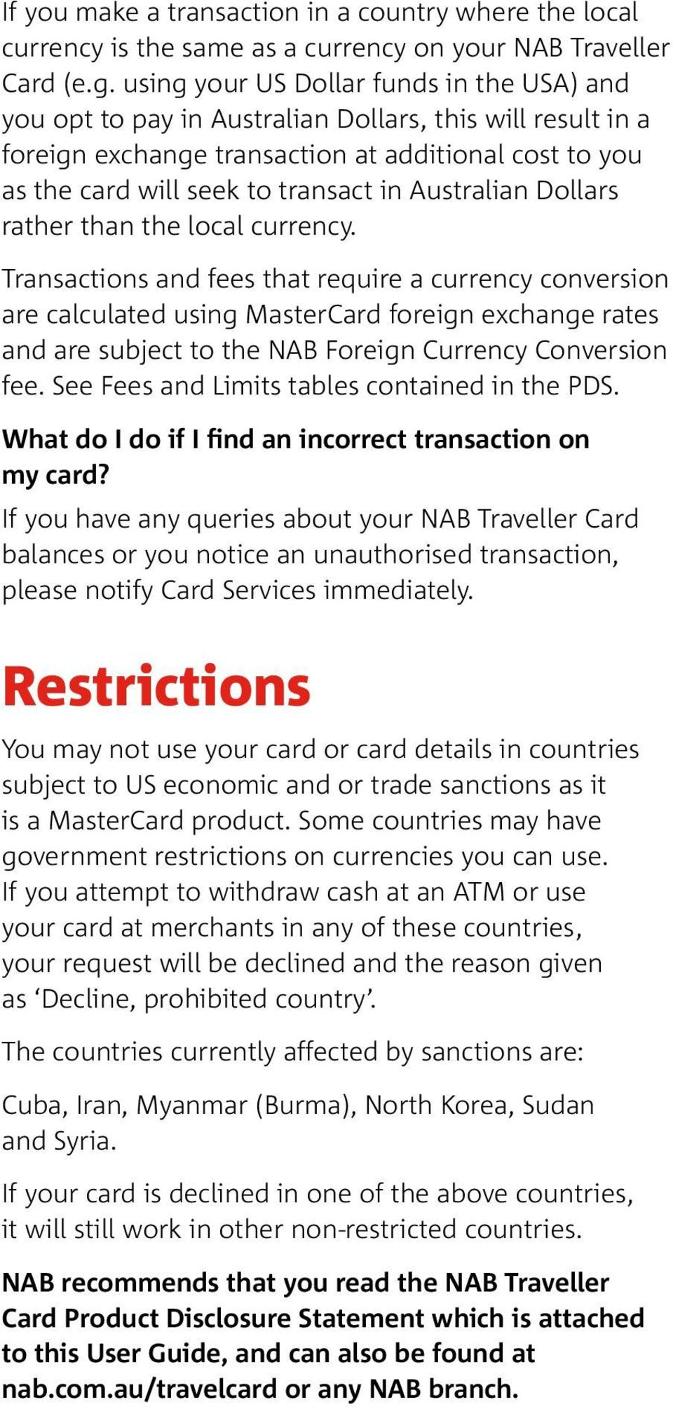 Nab Travel Card Conversion Rates Poemview Co