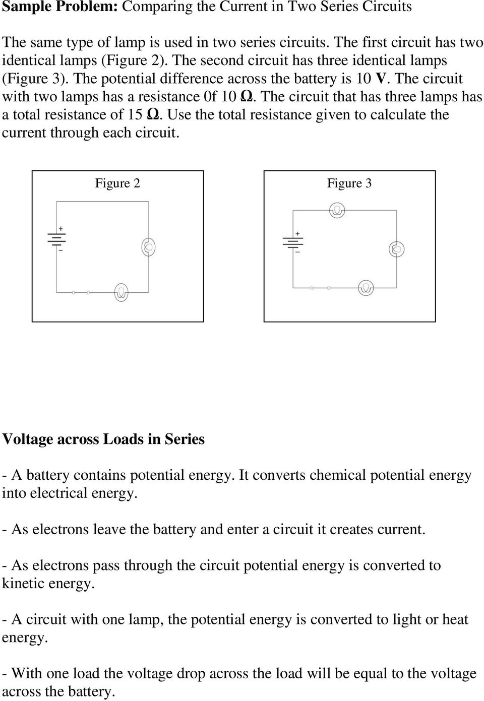 1310 How Series And Parallel Circuits Differ Pg Pdf Does Someone Calculate The Total Resistance Of Such A Circuit That Has Three Lamps 15 Use