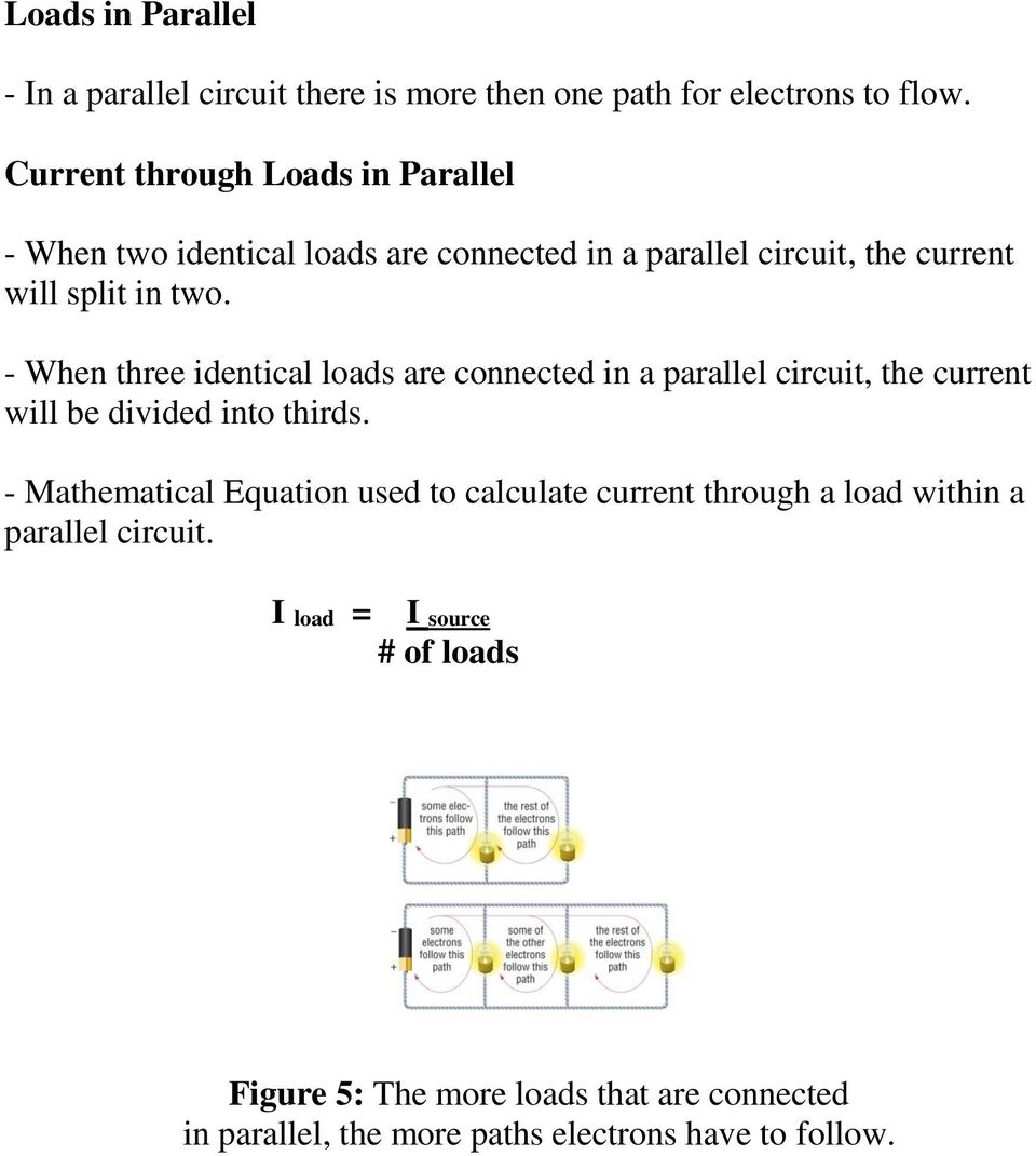 1310 How Series And Parallel Circuits Differ Pg Pdf Load Circuit When Three Identical Loads Are Connected In A The Current Will Be