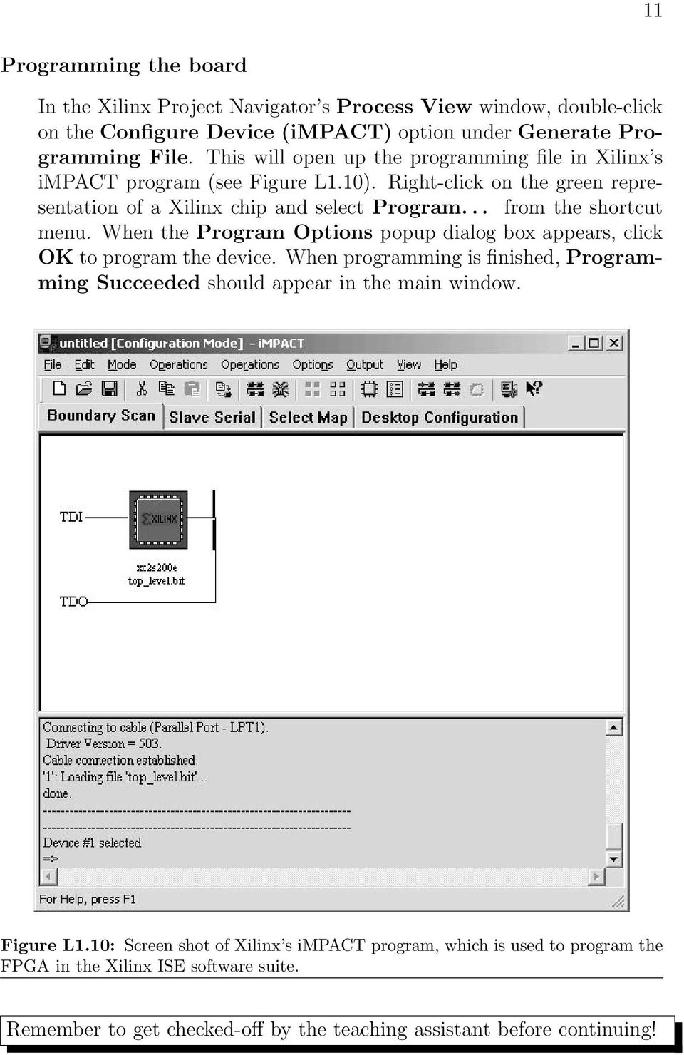 Lab 1: Introduction to Xilinx ISE Tutorial - PDF